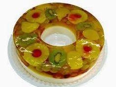 INGREDIENTES   1 Kg de las frutas de tu preferencia  2 paquetes de Gelatina de la marca y sabor de tu preferencia  1 lata de media ...