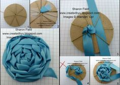 cloth flowers diy fabric roses how to make - cloth roses diy how to make - cloth flowers diy fabric roses how to make Ribbon Art, Fabric Ribbon, Ribbon Crafts, Flower Crafts, Ribbon Rose, Cloth Flowers, Diy Flowers, Paper Flowers, Crocheted Flowers