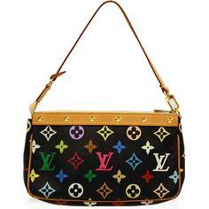 Louis Vuitton Multicolore Black Pochette Bag