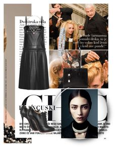 """""""Untitled #137"""" by unborn ❤ liked on Polyvore featuring MM6 Maison Margiela, Christian Louboutin, Yves Saint Laurent, Lana and Michael Kors"""