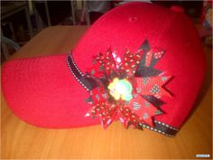 gorras decoradas con cinta - Buscar con Google