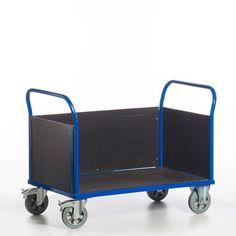 GTARDO.DE:  Dreiwandwagen, Tragkraft 1200 kg, Ladefläche 2000x780 mm, Maße 2170x800 mm, Rad-Ø 200 mm 450,00 €