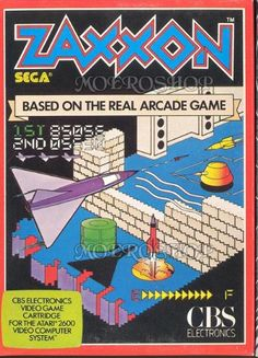Zaxxon (we had the Atari version & played it for hours)