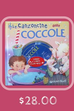 This sweet, full-color book and accompanying CD has nine of the most sweetest Italian lullabys and nursery rhymes familiar to children all over the world.    Children can turn each page to see soft, sleepytime illustrations while listening to the soothing voice of Fabio Cobelli, as his tender voice lulls them to sleep.