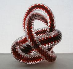 Incredibly FASCINATING Signed ART Glass SNAKE SCULPTURE Wild INTRIGUING Textures