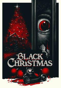 Black Christmas Horror Movie Poster Slasher