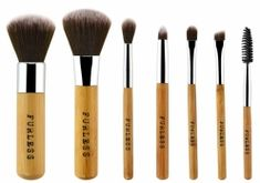 Our environmentally friendly Mini Bamboo Brush Sets are back in stock and flying out the door!   SHOP FURLESS> http://furlesscosmetics.com.au/cruelty-free-cosmetics/vegan/27-bamboo-makeup-brushes