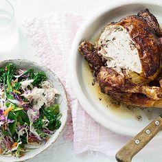 How to make Jerk Chicken with Broccolini Slaw