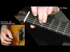 FOR ELISE: Fingerstyle Guitar Lesson + TAB by GuitarNick - YouTube