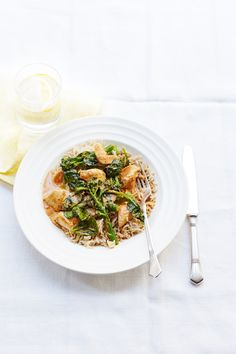 Make midweek cooking easy for yourself with this shortcut Thai chicken recipe using shop-bought curry paste.