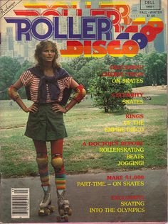 "gameraboy: "" klappersacks: "" Roller Disco 1979 by psycopete on Flickr. "" Cheryl Tiegs """