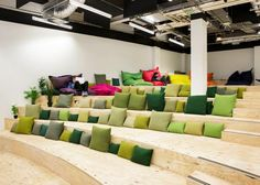 Chipboard seating