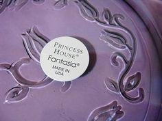 Princess House Fantasia Purple Amethyst by WHISTLESTOPTRAINSHOP