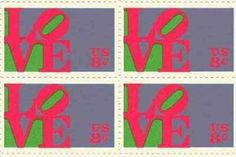 LOVE Set of 4 x 8 Cent US Postage Stamps NEW Scot 1475 by USPS. $0.40. One set of four (4)LOVE 4 x 8 Cent postage stamps Scot #1475