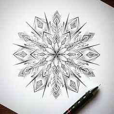 ♥ The one and only @dbdoodles! Follow for top mandalas: @mandalahead Follow the featured artist: @dbdoodles Use #mandalahead for submissions