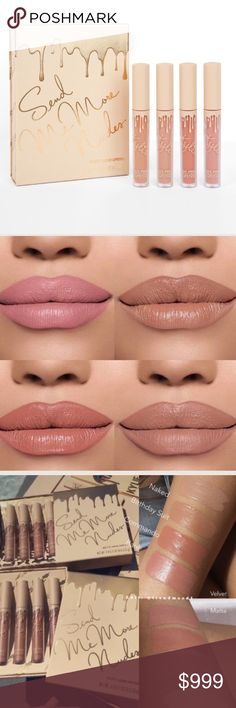 💋Coming Today💋Kylie Vacation Velvet Naked ❤️Like to be notified of arrival❤️ Kylie Vacation Edition Send Me Nudes Velvet Lip Single 100% authentic from Kyliecosmetics.com. Each order will include copy of order info.   Naked (sandy beige)   Bundle discount available!  🍍Suggested User! 🍍5 Star Rated Seller! 🍍Same or next day shipper! 🚫No trades! ❌No half price offers Kylie Cosmetics Makeup Lipstick