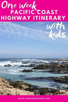 Road Trip With Kids, Family Road Trips, Family Travel, Highway 1, Pacific Coast Highway, San Francisco With Kids, California With Kids, American National Parks, Visit Usa