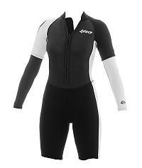 I found this on www.chicksticksbylola.com  Seriously love and own this wetsuit!
