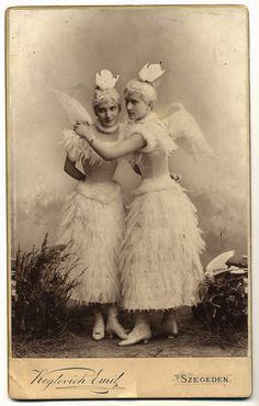 Two fairy ladies, 1890-1900