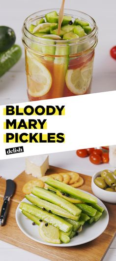 Take Your Love Of Bloody Marys To The Next Level With These PicklesDelish