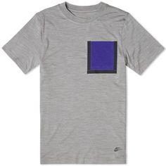 Nike White Label Dri-Fit Wool Tee