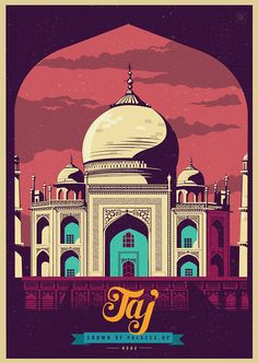 Celebrating India by ranganath krishnamani, via Behance
