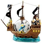Disney Snow Globe - Pirates of the Caribbean - Mickey Mouse and Friends