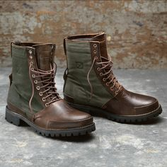 "Timberland Boot Company Tackhead 8"" boot."
