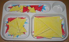 il gioco dei triangoli (indovina l'aggettivo) Montessori 1