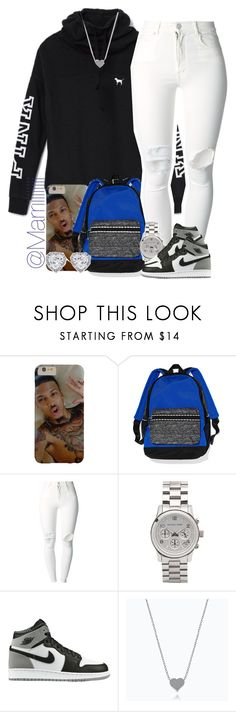 """""""When i get dressed and have no were to go"""" by marriiiiiiiii ❤ liked on Polyvore featuring Victoria's Secret, (+) PEOPLE, Michael Kors, Retrò and JouJou"""