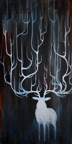 white stag | Tumblr