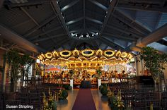 Please Touch Museum. Ok this is where I am getting married...in front of a carousel? Uh hell yes please!