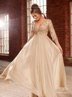 plus bridesmaid dresses gold - Buscar con Google