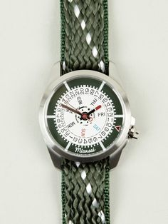 Miansai Watch - As organic as alfalfa - as though it  grew in Eden rather than being designed by a horologist in a white coat.  Send me one!