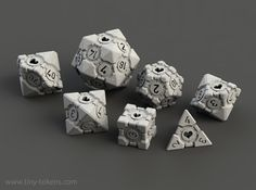 Companion Cube Polyhedral 7 Dice Set (+ decader) by Foxworks on Shapeways. Learn more before you buy, or discover other cool products in Dice. Companion Cube, Portal 2, Geek Culture, Portal Wheatley, Dragon Dies, Dungeons And Dragons Dice, Dice Bag, E Design, Decir No