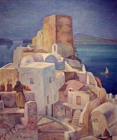 Κογεβίνας Λυκούργος-Σαντορίνη, Santorini