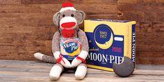 We're over the moon for moon pies. #crackerbarrel #roadtrip