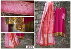 As dupatta | Different usage of Kanjeevaram saree