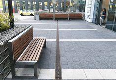 Sharp Bench from ZANO Street Furniture