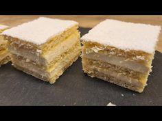 Hókocka recept /RETRO/ TT /🎄 - YouTube Vanilla Cake, Tiramisu, Cheesecake, Meals, Baking, Retro, Ethnic Recipes, Desserts, Addiction