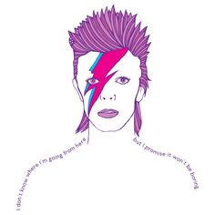 David Bowie illustration