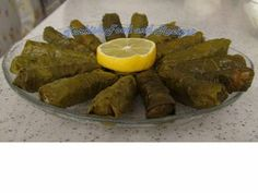 Grape Leaves Stuffed with Rice - Turkish Recipe :)