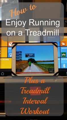 Here's the secret! How to enjoy running on a treadmill. Plus a fun and challenging treadmill interval workout. Treadmill Workouts, Running On Treadmill, Running Workouts, Fun Workouts, Walking Workouts, Workout Fun, Workout Plans, Fit Girl Motivation, Running Motivation