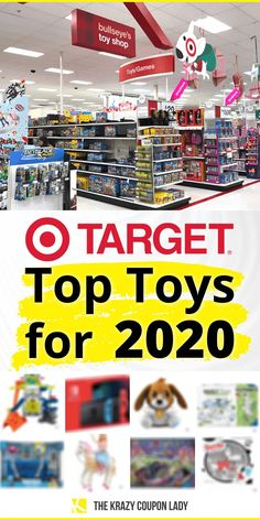 Looking for Target Top Toys for 2020? Your search is over! Target has announced their list just in time for the holiday season. With a number of retailers starting their Black Friday specials in October, it's good to know what's hot this season! To help keep you in the know this holiday season be sure to bookmark the KCL Toys Deals page . Interested in LEGO Black Friday deals or L.O.L. Surprise! Black Friday deals? KCL has you covered there too. #target #giftideas #giftlist Oxo Pop Containers, Amazon Prime Day Deals, Black Friday Specials, Store Hacks, Christmas Fun, Holiday, Top Toys, Toys Shop, Gift List