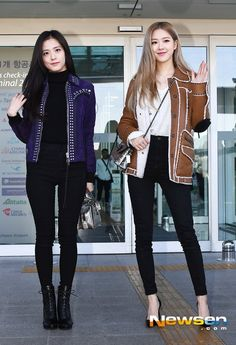 Black Pink Yes Please – BlackPink, the greatest Kpop girl group ever! Korean Girl Fashion, Blackpink Fashion, Fashion Outfits, Womens Fashion, Kpop Mode, Looks Teen, Looks Style, My Style, Mode Ulzzang