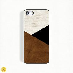 Brown and Black Faux Textured Phone Case Find all my designs here: https://www.etsy.com/shop/BeeCoveredCases My phone cases are fun,