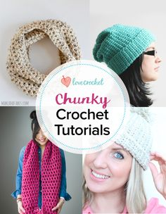 Pinteresting Projects: chunky crochet patterns