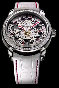 Pierre DeRoche Six Retrograde Seconds Hands Ladies Watch