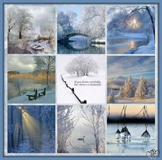 ~Katarina~Collage by Miss Katarina Winter Moodboard Love Collage, Color Collage, Beautiful Collage, Collages, Mood Colors, Winter Beauty, Winter Scenes, Winter Time, Shades Of Blue