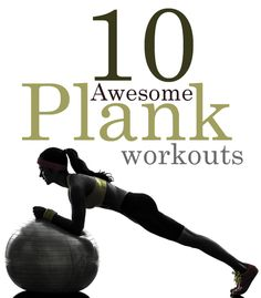 Need some great stomach exercises to do at home? Planking is one of the BEST things you can do to work on your core strength and abdominal muscles. It also happens to be a great full body workout as well. Check out our plank workout roundup from arou
